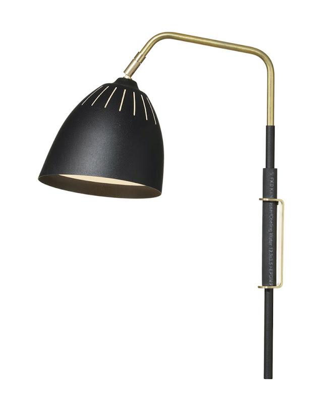 Örsjö Vägglampa Lean