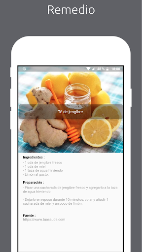 Natural : Medicina natural y recetas caseras screenshot 2