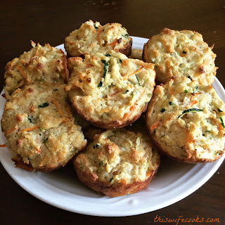 Veggie Muffins – Toddler Approved and Gluten Free.