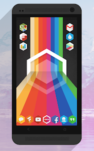Flatty - A Flat Hex Icon Pack v1.0.5