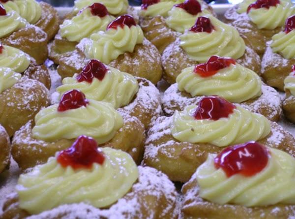 Zeppole (st. Joseph's Day Fritter) Recipe