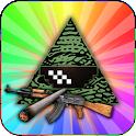 Illuminati vs. Memes MLG icon