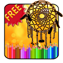 Adult Coloring Dreamcatcher file APK Free for PC, smart TV Download