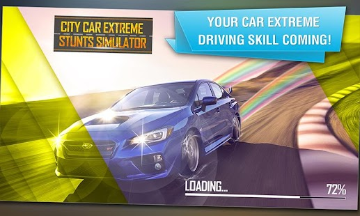 City Car Extreme Stunts Sim 3D- screenshot thumbnail