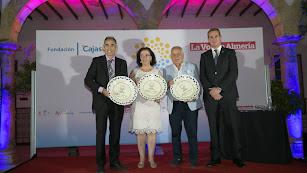 Los galardonados en esta primera edición de los I Premios del Turismo Almeriense