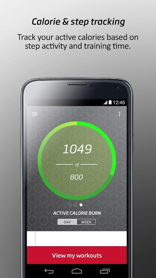 CustomFit by Fitness First- screenshot