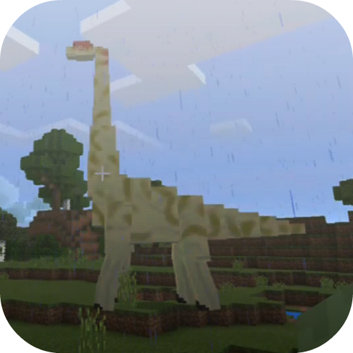 Jurassic Craft addon for MCPE