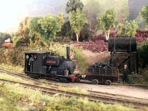 Photo: 017 Last look at Creech in this little sequence as she poses outside the loco shed with a wagon load of loco coal that has come in from the outside world via the transfer shed .