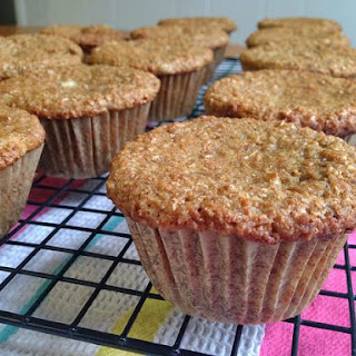 Whole Wheat Banana Bran Muffins.