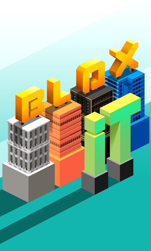 Blox It - tower building game- screenshot