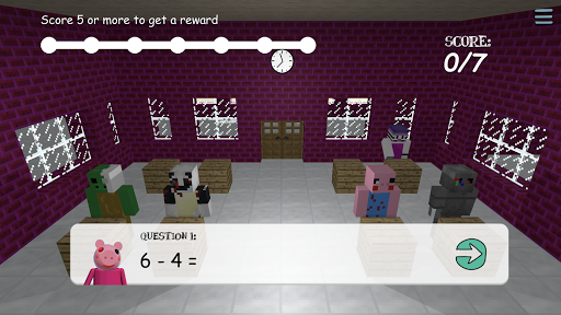 Piggy Scary School Game ! 10.0 screenshots 5