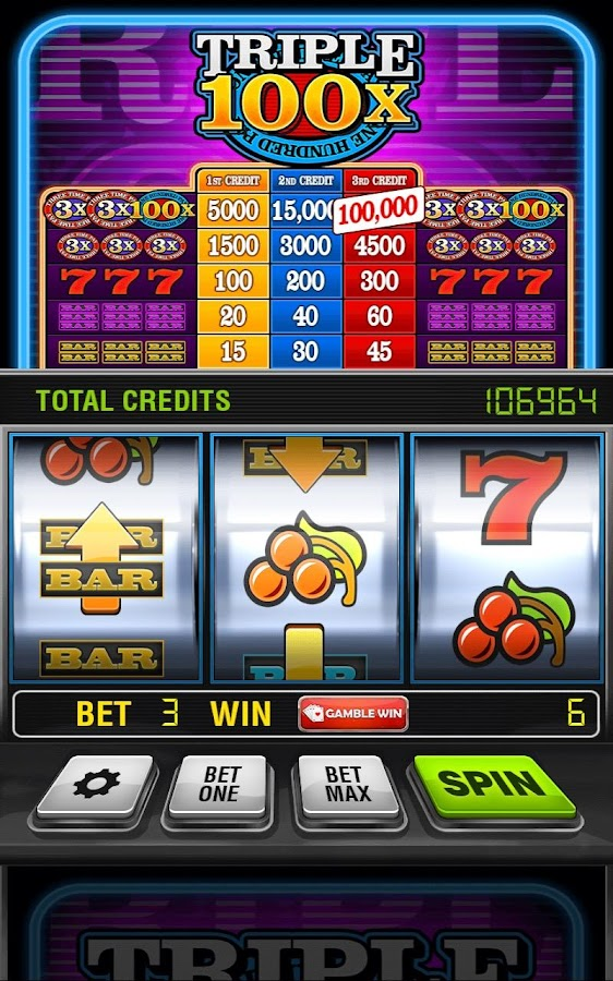 Triple 100x Slots HD- screenshot