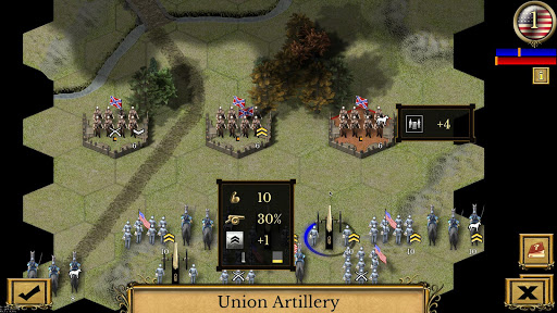 Civil War: 1864 3.1.0 APK MOD screenshots 1