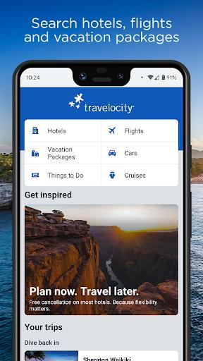Travelocity Hotels & Flights  screenshots 1