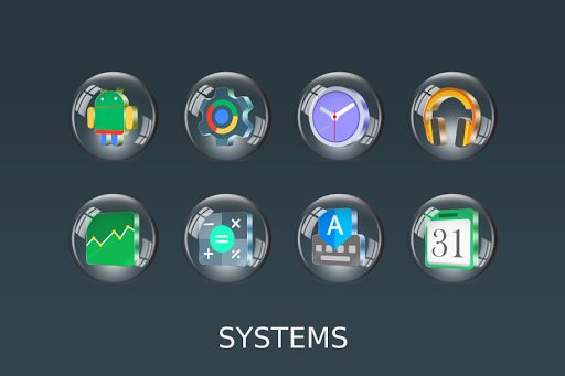 Glass 3D Icon Pack  screenshots 15