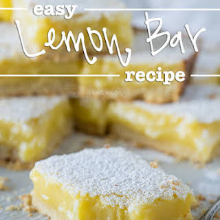 Easy Lemon Bar.