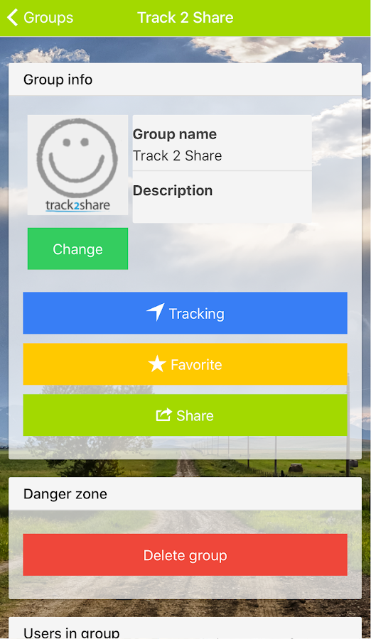 track2share- screenshot