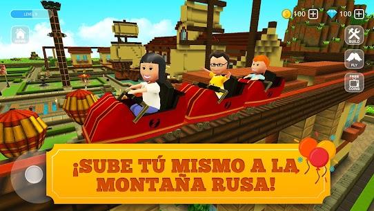 Roller Coaster Craft: Juego de Montaña Rusa