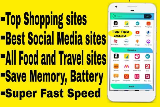 All In One Social Media,News,Sports,Shopping App 15.0.0 screenshots 1