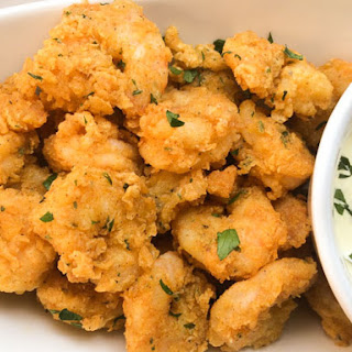 Grain Free Cajun Fried Shrimp