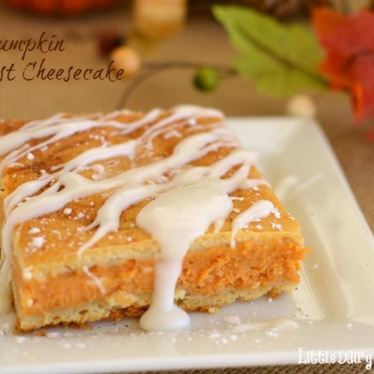 Pumpkin Breakfast Cheesecake