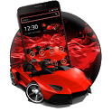 Red Speed Car Theme icon