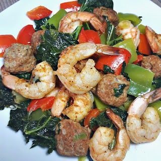Cajun Shrimp and Sausage Skillet Recipe