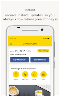 Denarii Cash - send money with zero fees