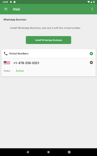 Wabi - Virtual Number for WhatsApp Business 1.8.8 screenshots 10