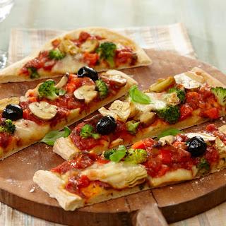 Gemüse-Pizza