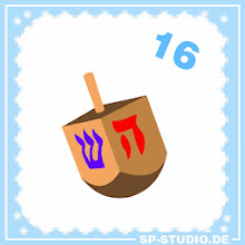 Photo: www.sp-studio.de Christmas Special, day 16: A dreidel for everbody who celebrates Hanukkah