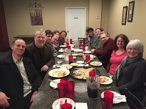 Photo: Atar Trio - View from Mt Nebo - USA Tour 2015 - Jewish Federation of Northwest Indiana-Dinner with hosting families
