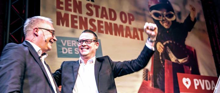 Peter Mertens und Raoul Hedebouw.
