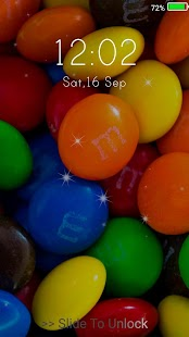 Sweets Live Wallpapers ( Lock Screen ) - náhled