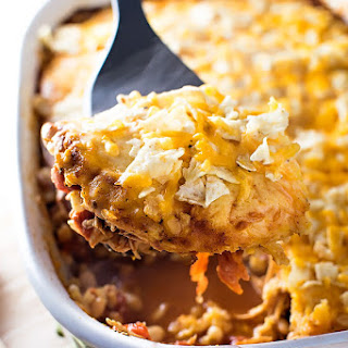 White Chicken Taco Casserole