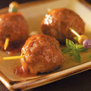Appetizer Meatballs (Pork Sausage and Ground Beef).