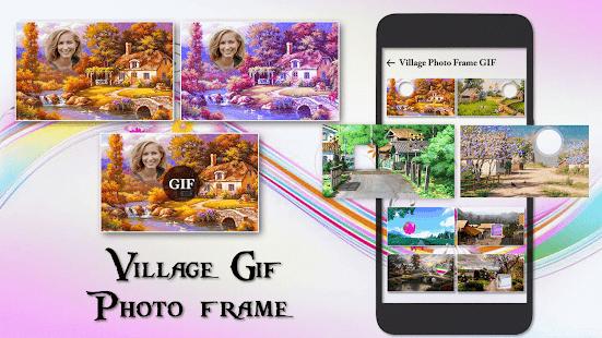 Village GIF Photo Frame Editor - náhled