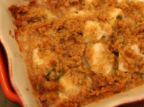 Scallops Baked In Garlic Sauce Recipe