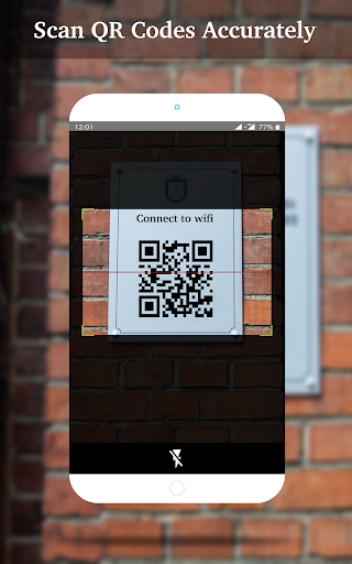 QR Code Scanner - QR code reader and Generator screenshots 2