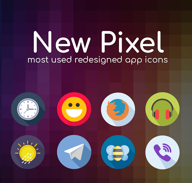 New Pixel icon pack v1.0