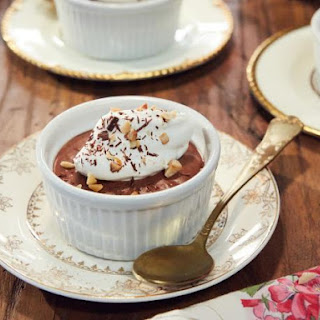 Chocolate Mousse with Hazelnut Whipped Cream Recipe