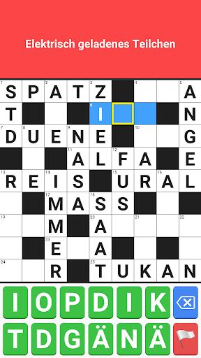 Crossword German Puzzle Free Word Game Offline 2.5 screenshots 7