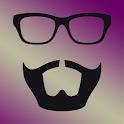 تركيب الشعر واللحية والنظارات icon