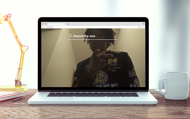 Lucki New Tab Music Theme