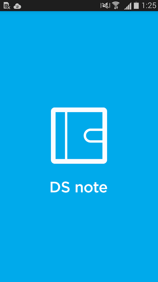 DS note – Capture d'écran