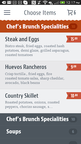 android Five Loaves Cafe Screenshot 2