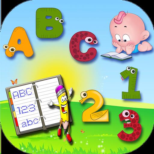 Kids Learn (ABC & 123 Writing)