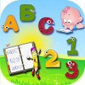 Kids Learn (ABC & 123 Writing) icon