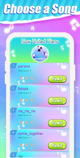 Capturas de pantalla de Piano Tiles Now United 1