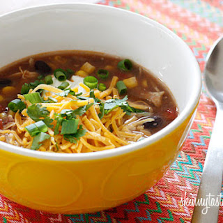 Chicken Enchilada Soup Crock Pot Recipes